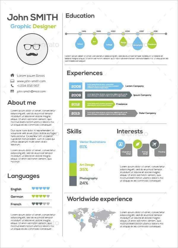 resume builder infographic top 6 free best infographic resume creator techgyd pin infographic resume on pinterest