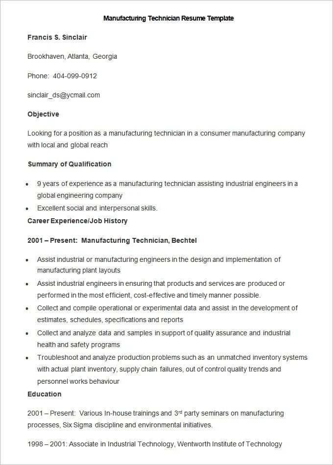sample resume factory worker. cover letter sample for ...