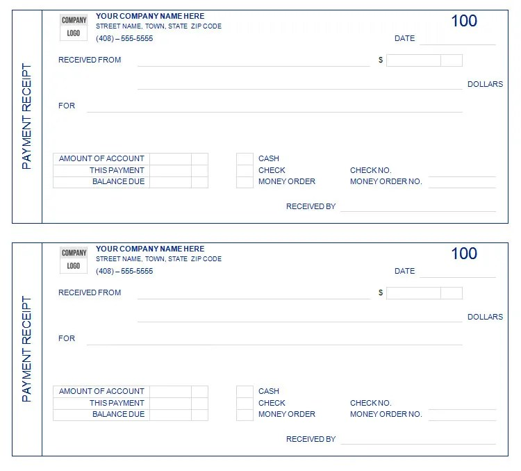 web design receipt template - money receipts