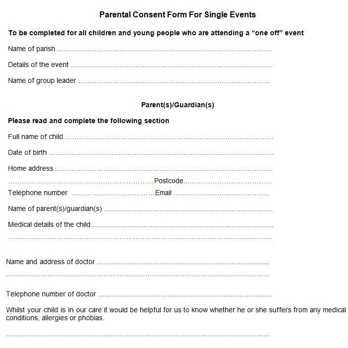medical consent forms templates - Vatozatozdevelopment