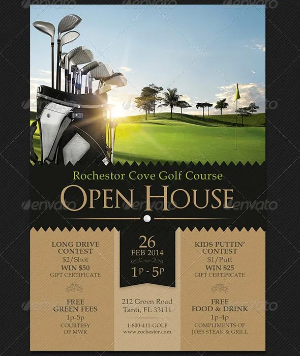 Free Open House Flyer Templates – Open House Flyer Template