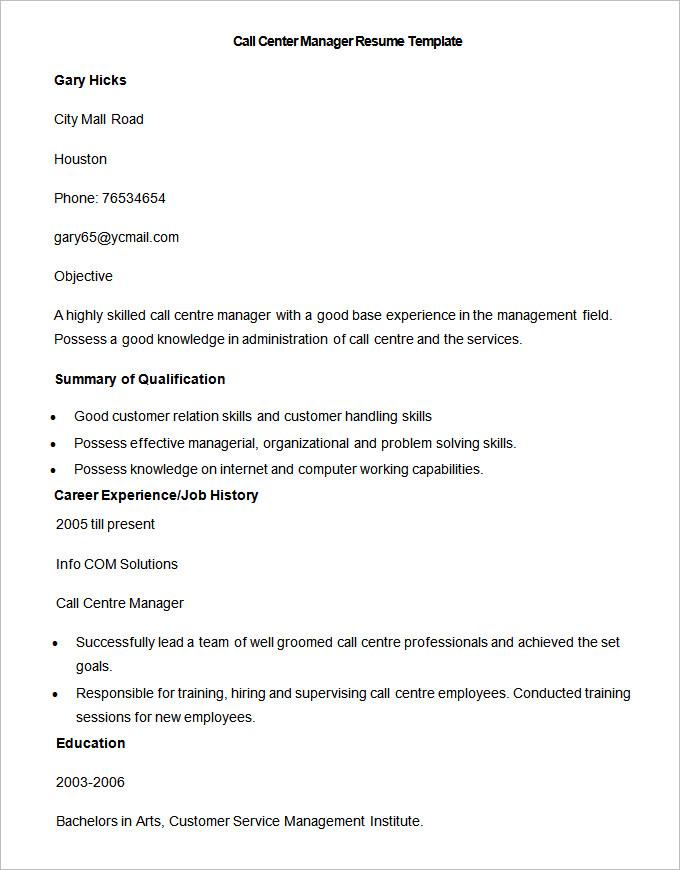 call center customer service resume sample call center - Akbagreenw - call center resume sample