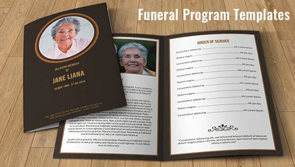 funeral service flyer template - memorial service template word