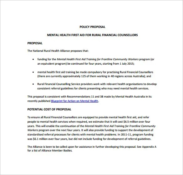 Managed Services Proposal Template – Service Proposal Template