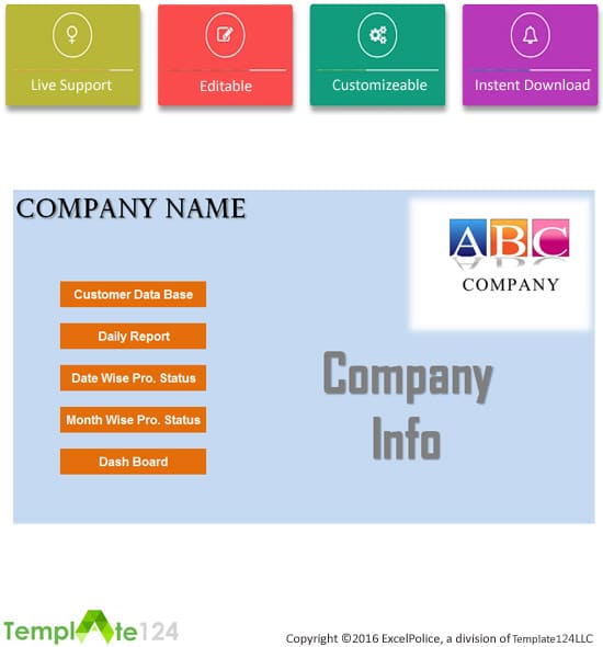 Production Budget Template Excel \u2013 Template124
