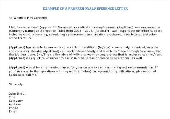 Recommendation Letter For Internship Completion \u2013 templates free