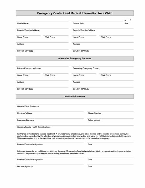 Medical Form Templates Microsoft Word \u2013 templates free printable