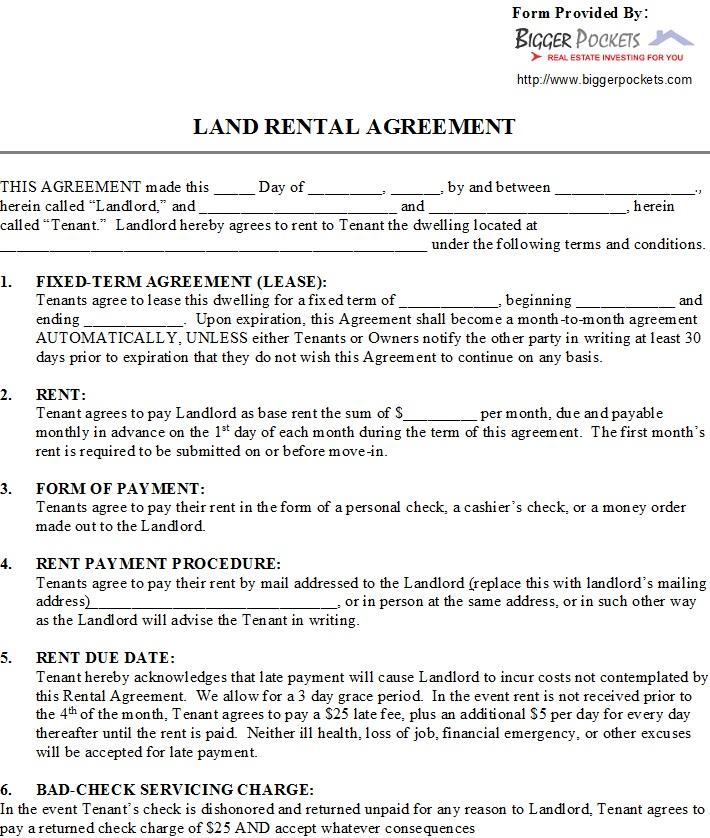 40+ Rental Agreement Sample Templates - TemplateHub