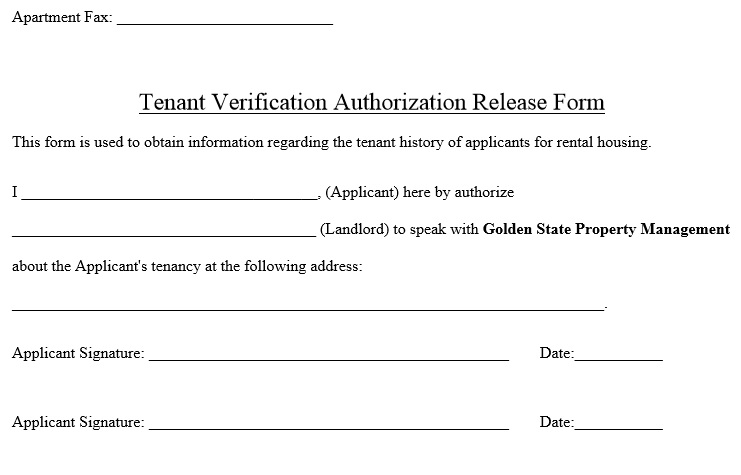 tenant verification form - Mersnproforum