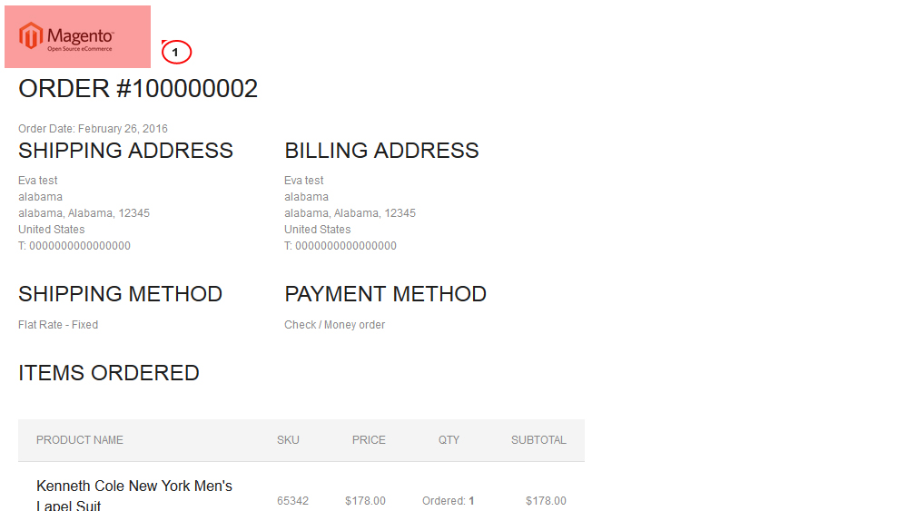 Magento How to change logo for PDF invoices  print-outs - Template - printed invoices