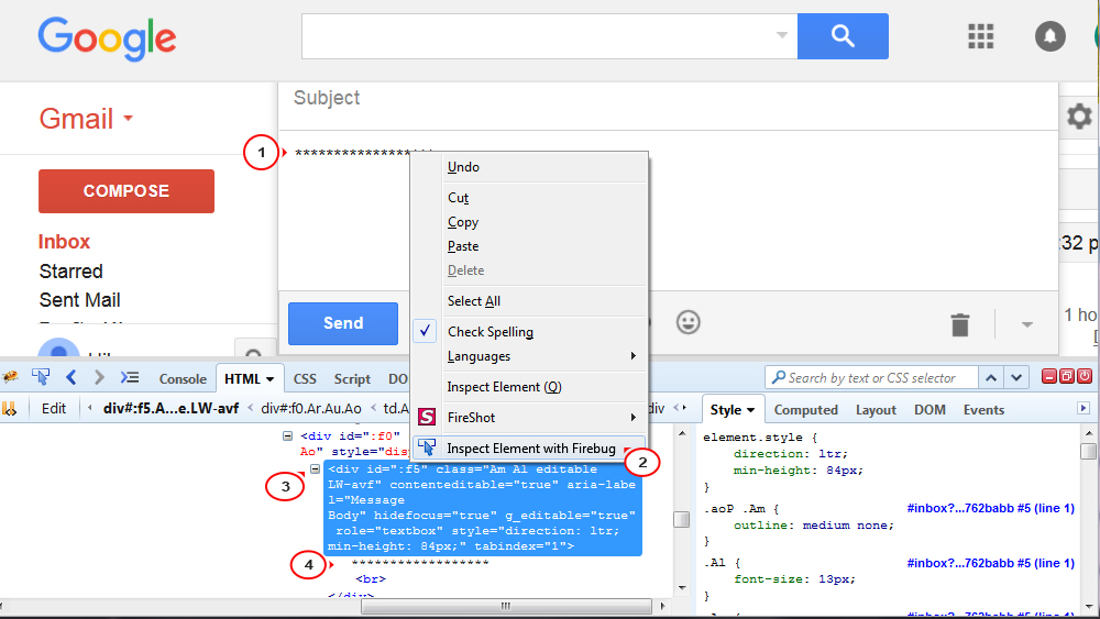 How can I use an html template (that I downloaded) in Gmail and/or