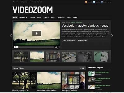 Videozoom Wordpress Video Theme Wordpress Slider Theme WP Video