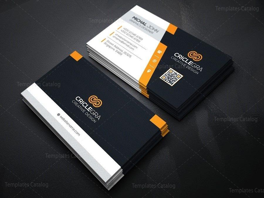 Company Business Card Design Template 000162 - Template Catalog - buisness card design