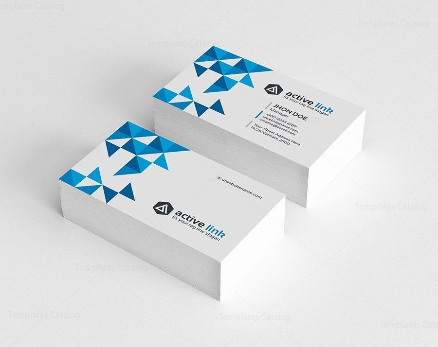 Medical Business Card Template 000161 - Template Catalog - medical business card templates