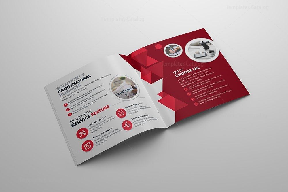 Bifold Brochure Template PSD 000420 - Template Catalog