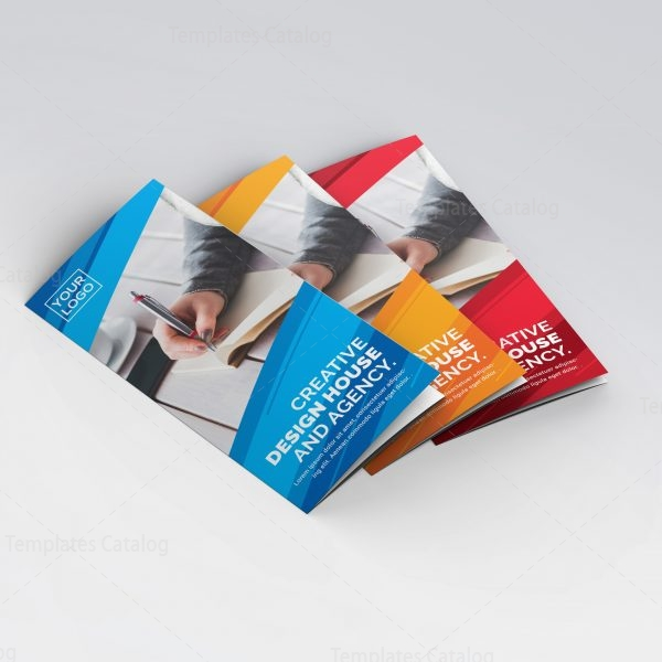 Apollo Professional Tri-Fold Brochure Template 000761 - Template Catalog