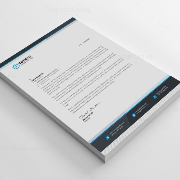 Letterhead Design Templates 000610