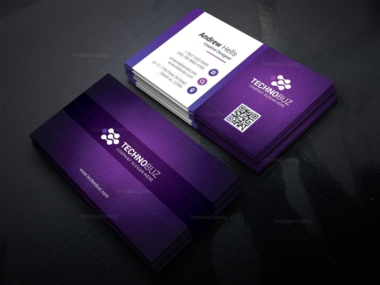Fullsize Of Modern Business Card