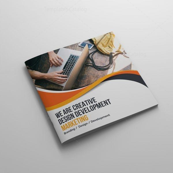 Technology Company Brochure Template 000622 - Template Catalog