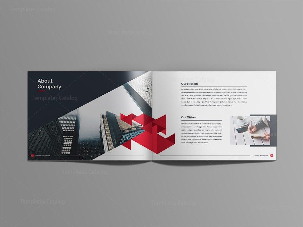 Zeus Professional 24 Pages Landscape Magazine Template 001104
