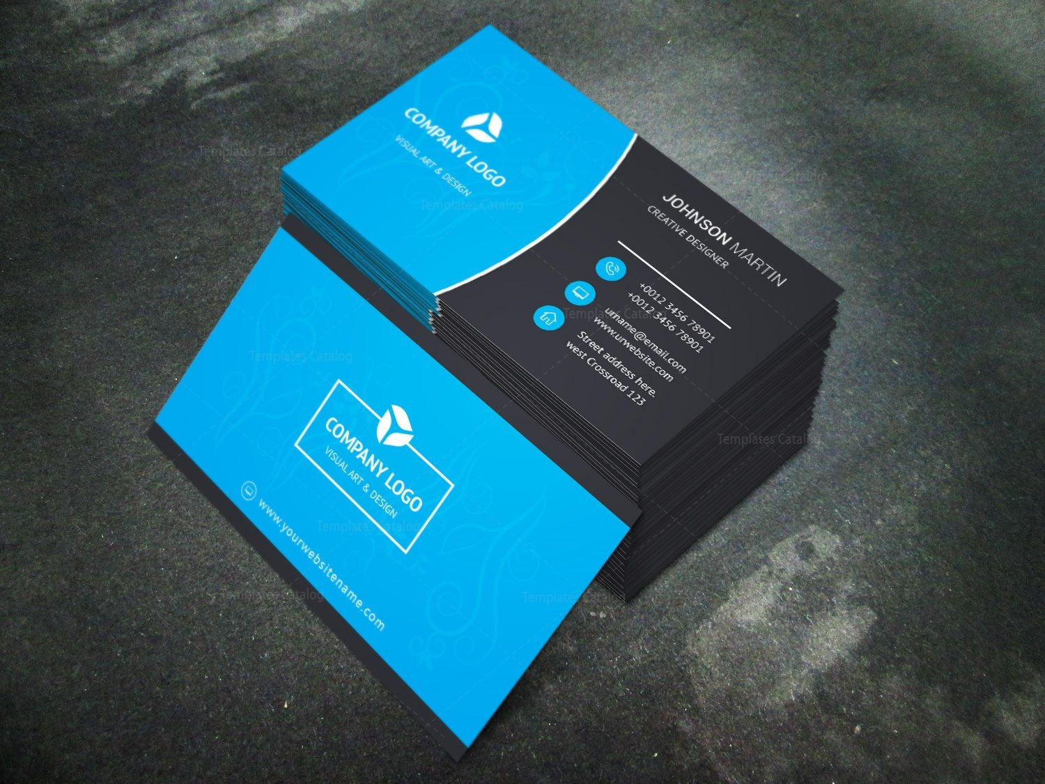 Fullsize Of Modern Business Card
