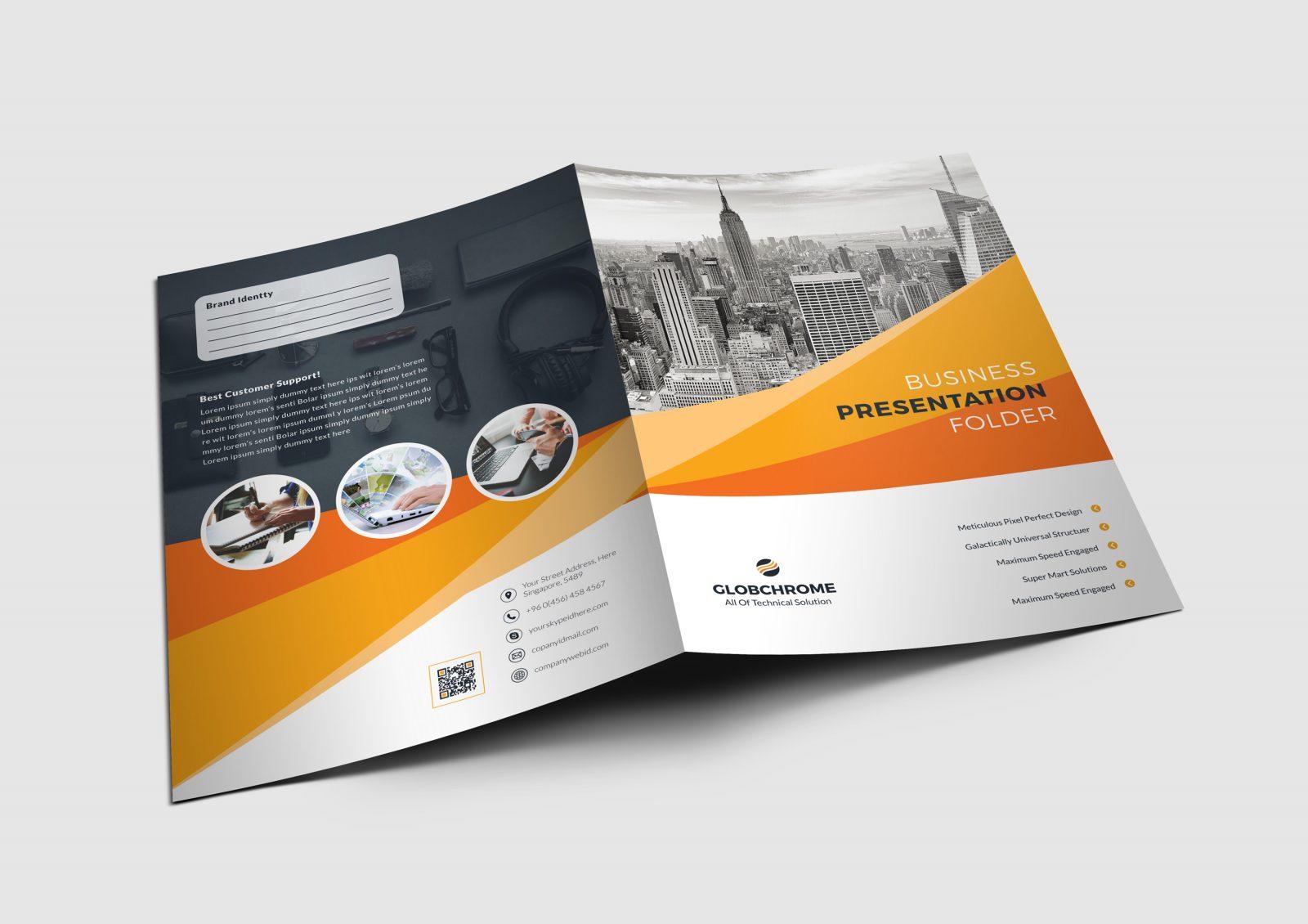 presentation cv design