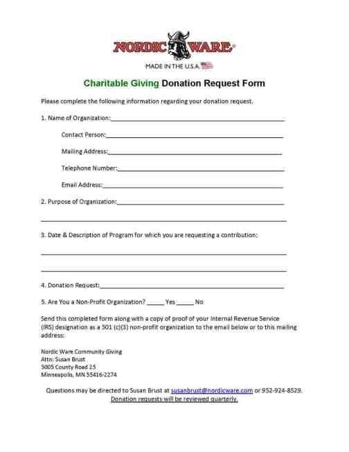 pledge form template pdf