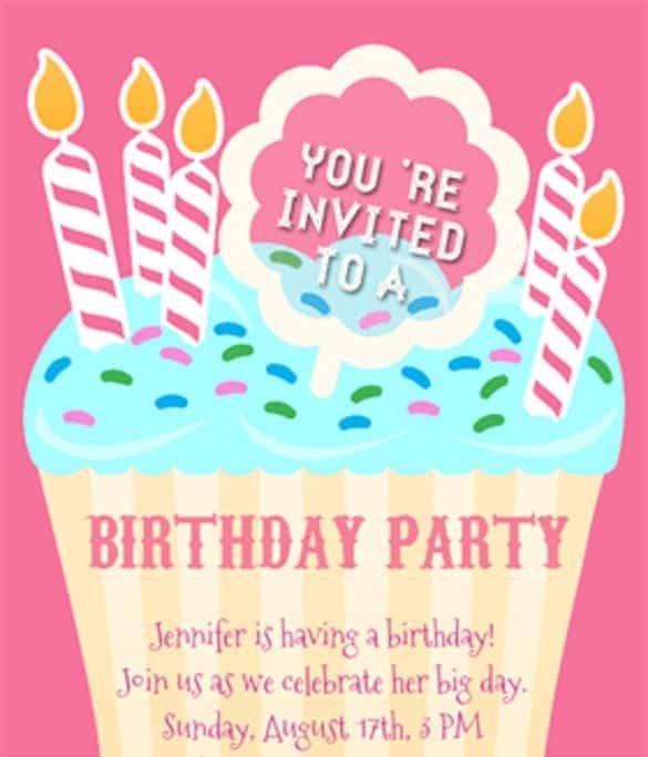 21+ Free Birthday Invitation Template - Word Excel Formats - format for birthday invitation