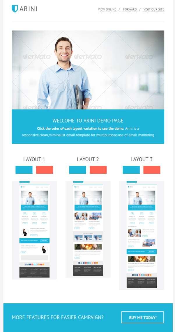 clean-Business-Newsletter-Template - business newsletter