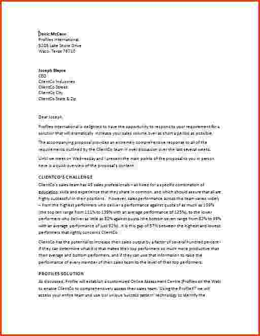 Sample business proposal Templates and Samples