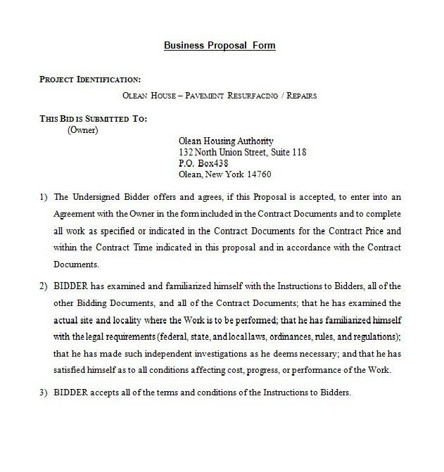 Business Proposal Format Doc doc#600643 technology proposal - proposal letter format