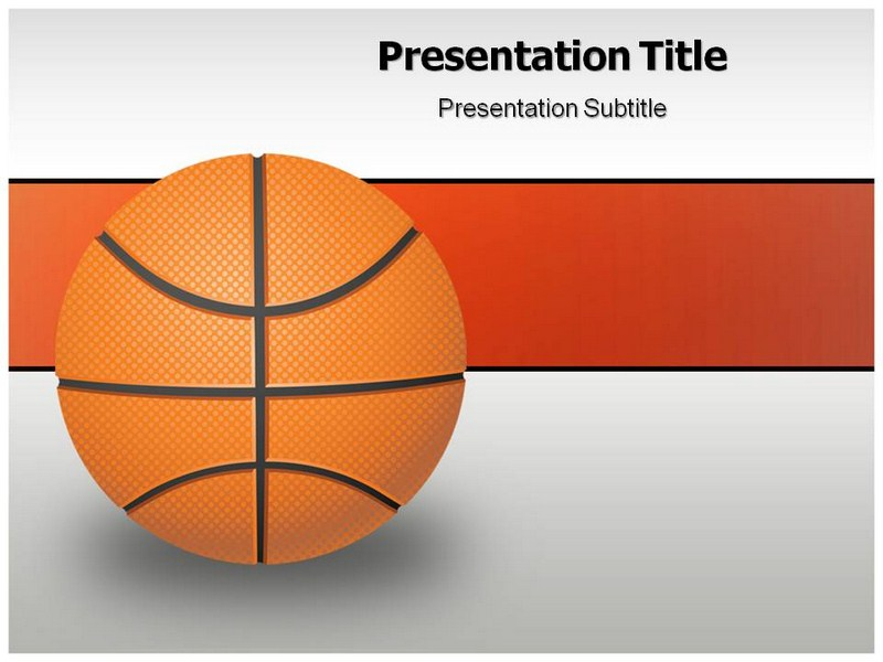 Basketball Game PowerPoint Templates and Backgrounds - basketball powerpoint template