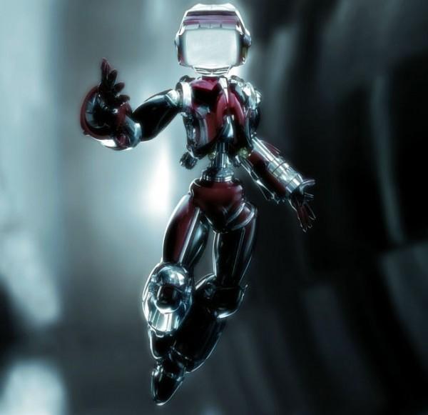 3d Design Flower Wallpaper 18 Best Futuristic And Glamorous 3d Robot Character