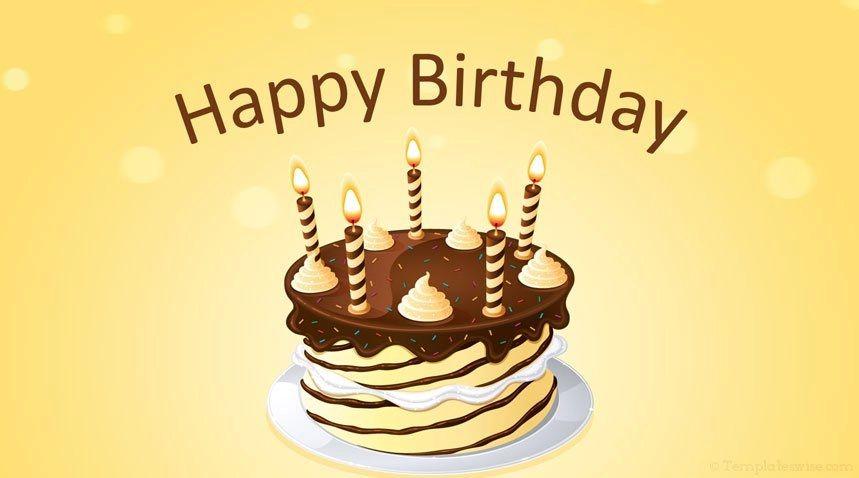 happy birthday ppt template