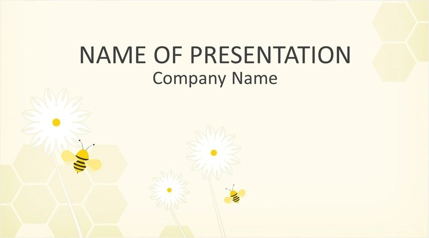 Bee PowerPoint Template - Templateswise