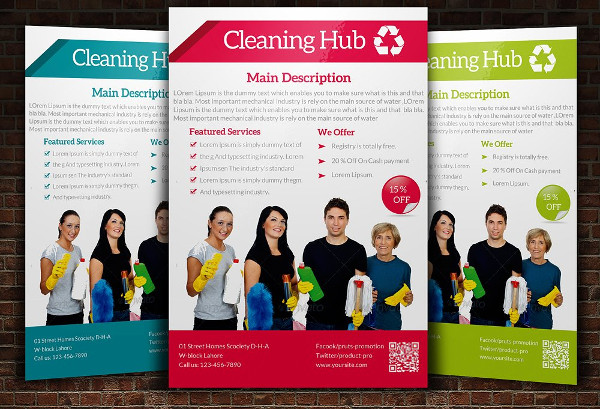 21+ Cleaning Flyer - Free  Premium Adobe Photoshop Illustrator formats