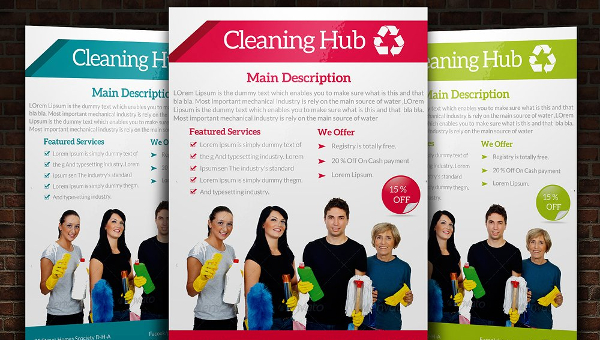 16+ House Cleaning Flyers Free  Premium Download