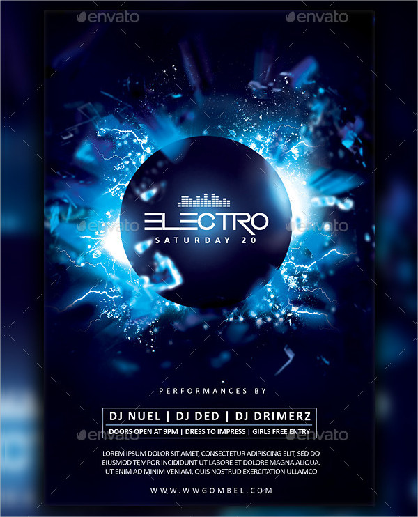23+ Electro Flyer Templates - Adobe Photoshop, Illustrator Downloads