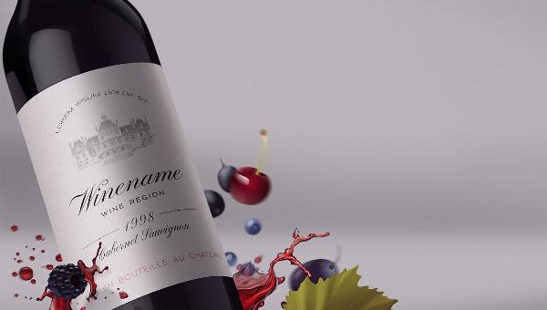 22+ Wine Label Designs - Free  Premium Download