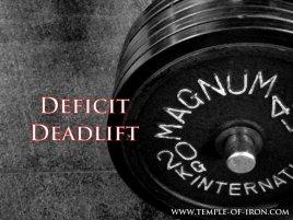 Deficit Deadlift