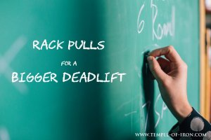 Deadlift rack pulls