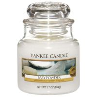 Yankee Candle Baby Powder Small Jar Candle | Temptation Gifts