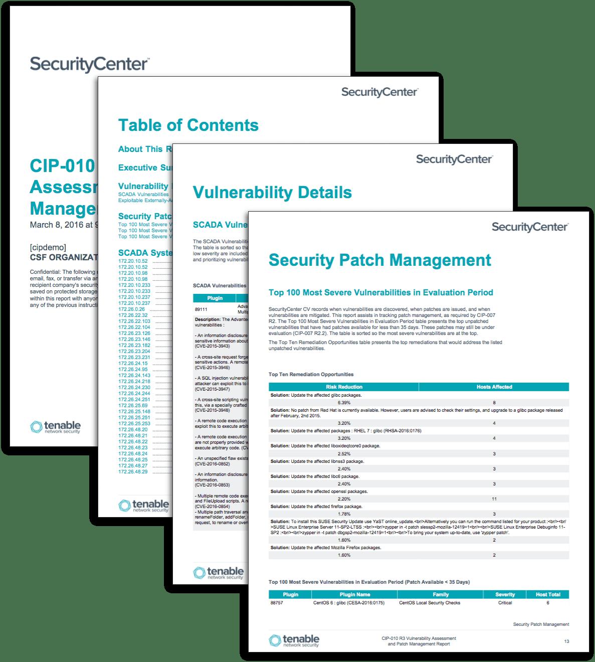 Vulnerability Assessment Report Template | Sample Resume Service