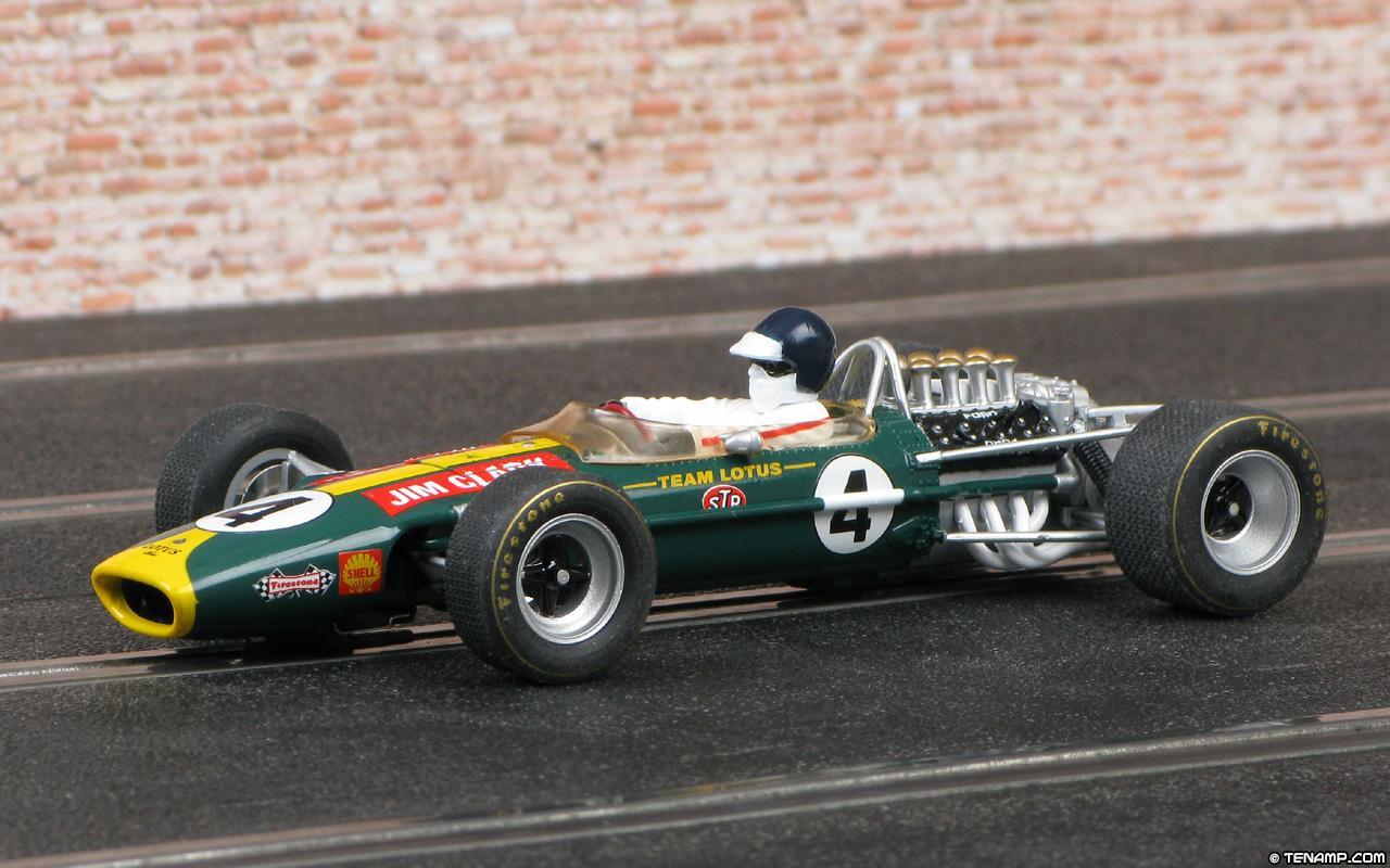 Race Car Wallpaper Images Scalextric C3206 Lotus 49 Cosworth 4 Jim Clark 1968