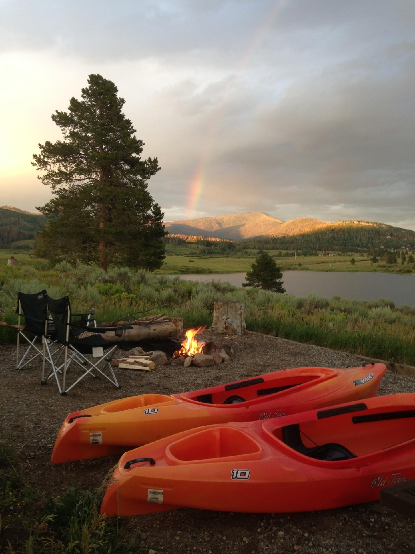 Steam Boat Lake, Colorado State Park