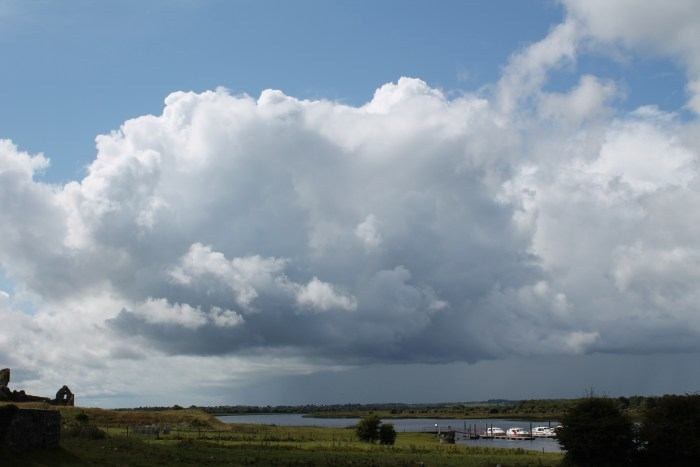Clonmacnoise, panorama