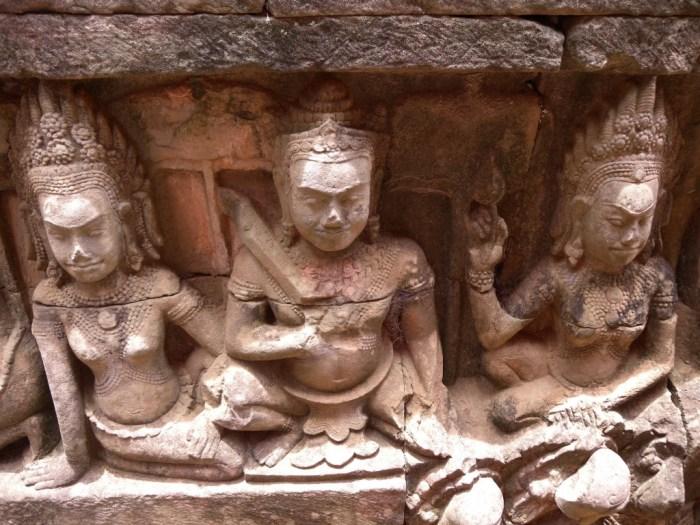 Angkor, Terrazza degli Elefanti