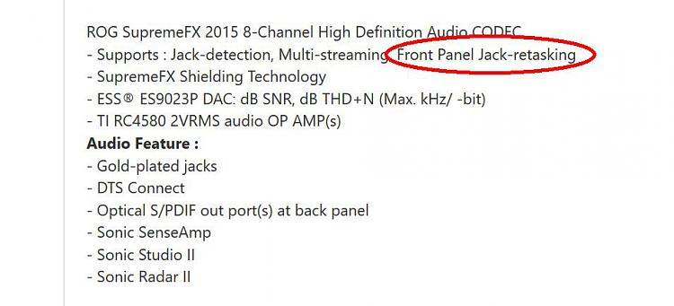 Front panel Audio detection is all mixed up and I don\u0027t know why
