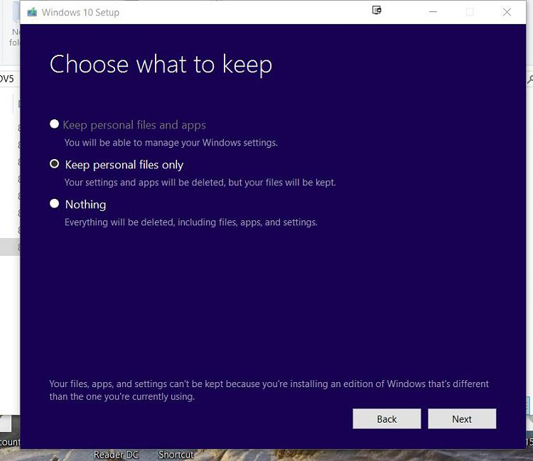 Install/Repair Keep Option disabled Solved - Windows 10 Forums - windows repair install