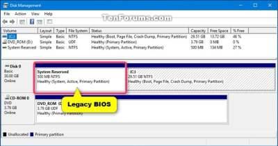 Check if Windows 10 is using UEFI or Legacy BIOS | Tutorials